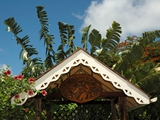 Hand Carved Sign-Gazebo